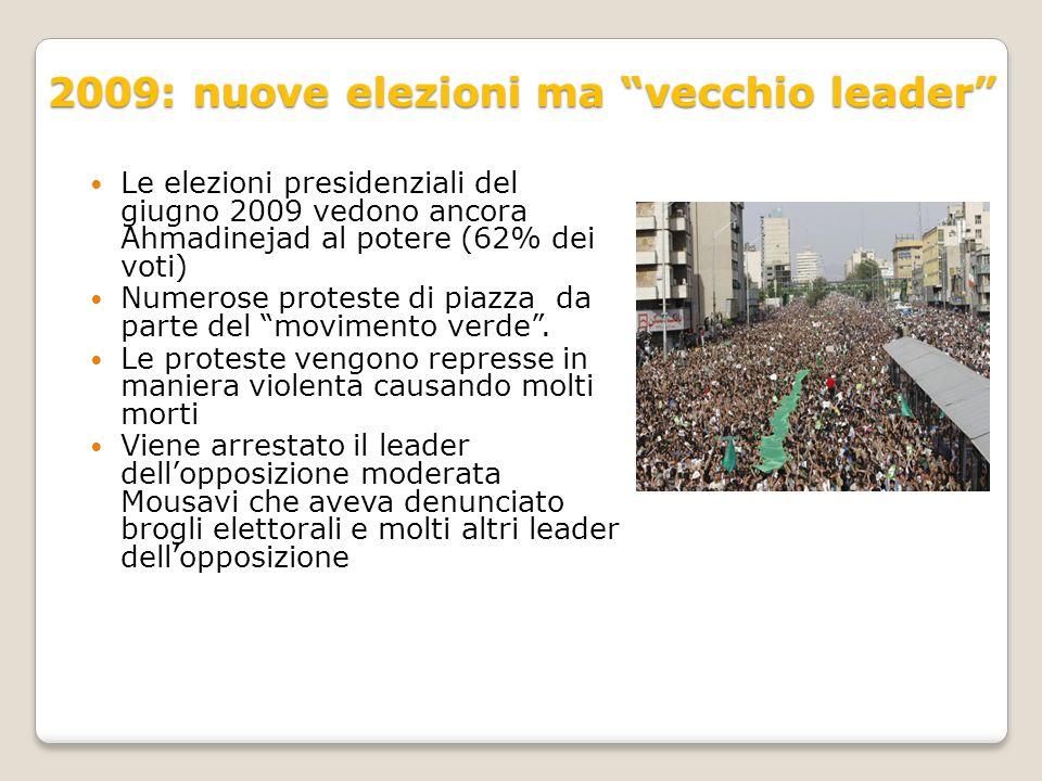 2009: nuove elezioni ma vecchio leader