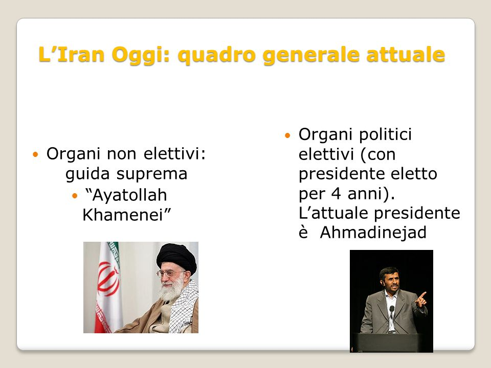 L'Iran Oggi: quadro generale attuale