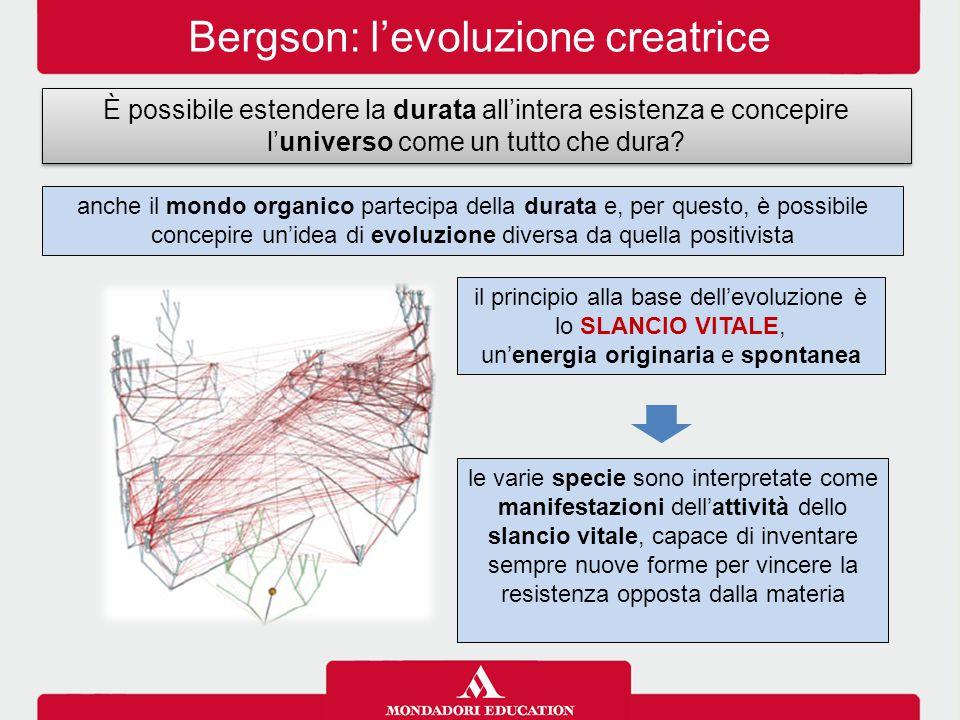 Bergson: l'evoluzione creatrice