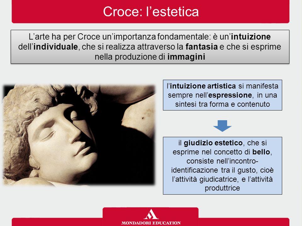Croce: l'estetica