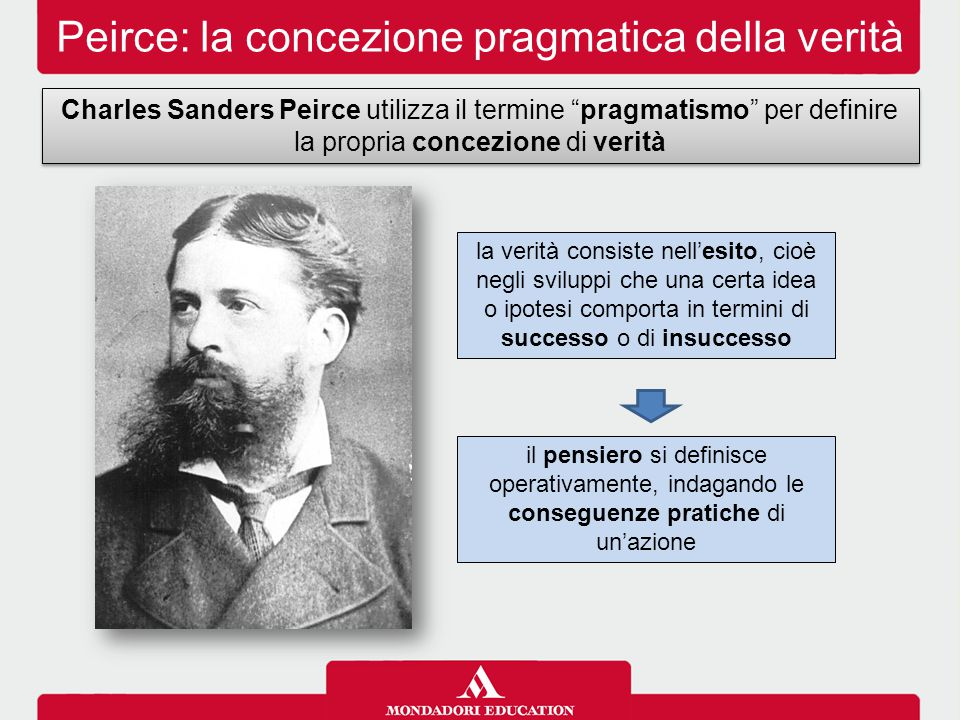 Peirce: la concezione pragmatica della verità