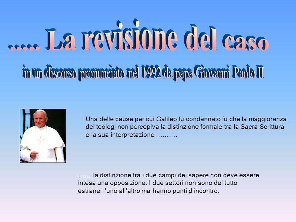 in un discorso pronunciato nel 1992 da papa Giovanni Paolo II