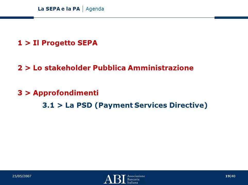 2 > Lo stakeholder Pubblica Amministrazione