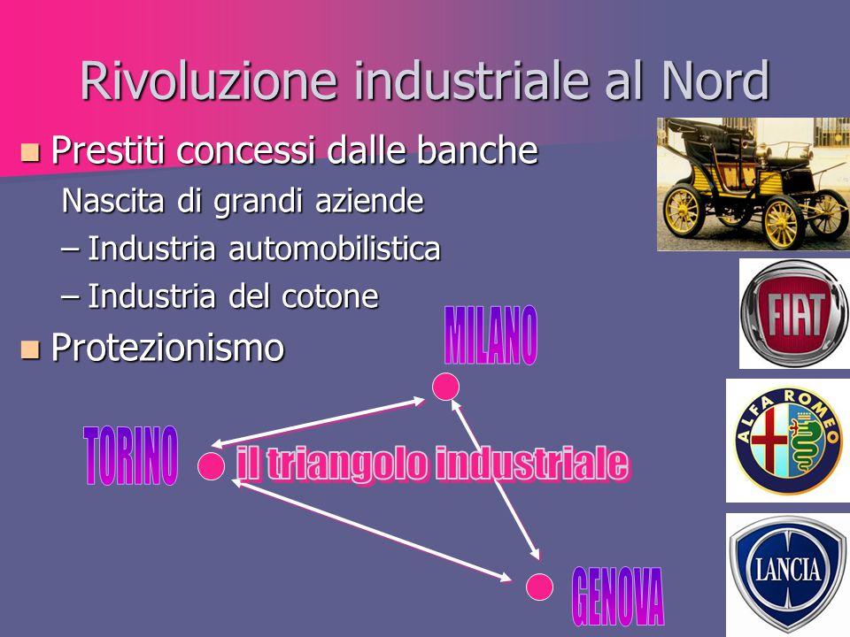Rivoluzione industriale al Nord