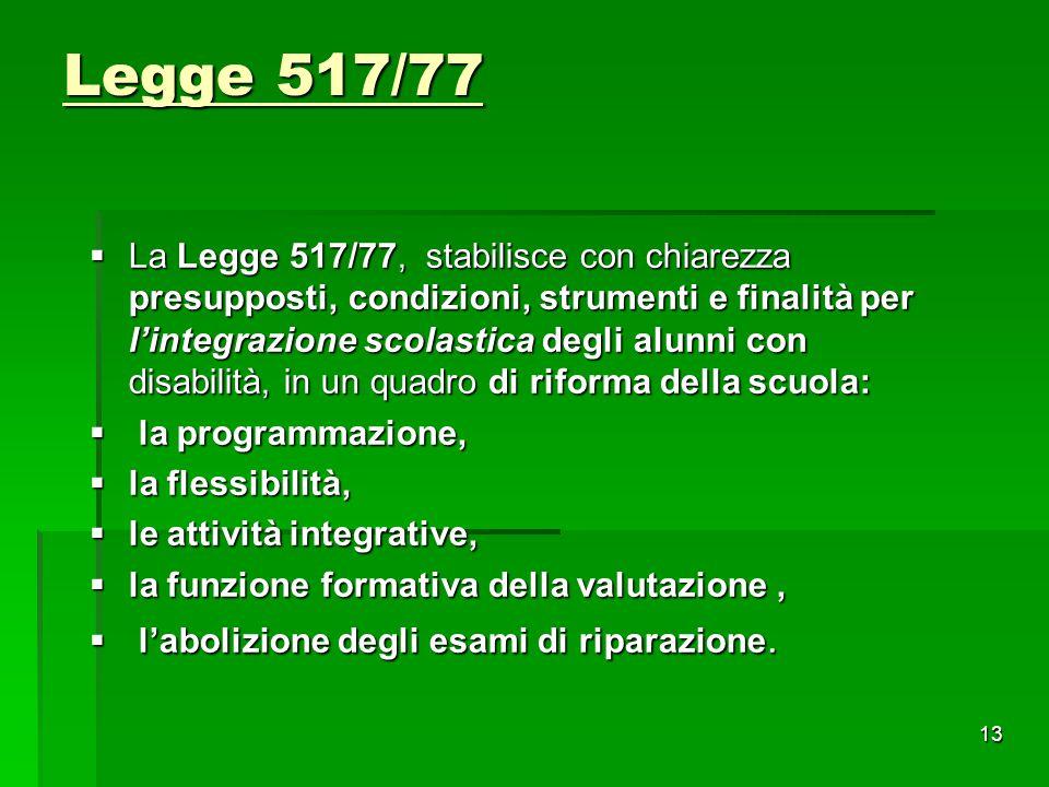 Legge 517/77