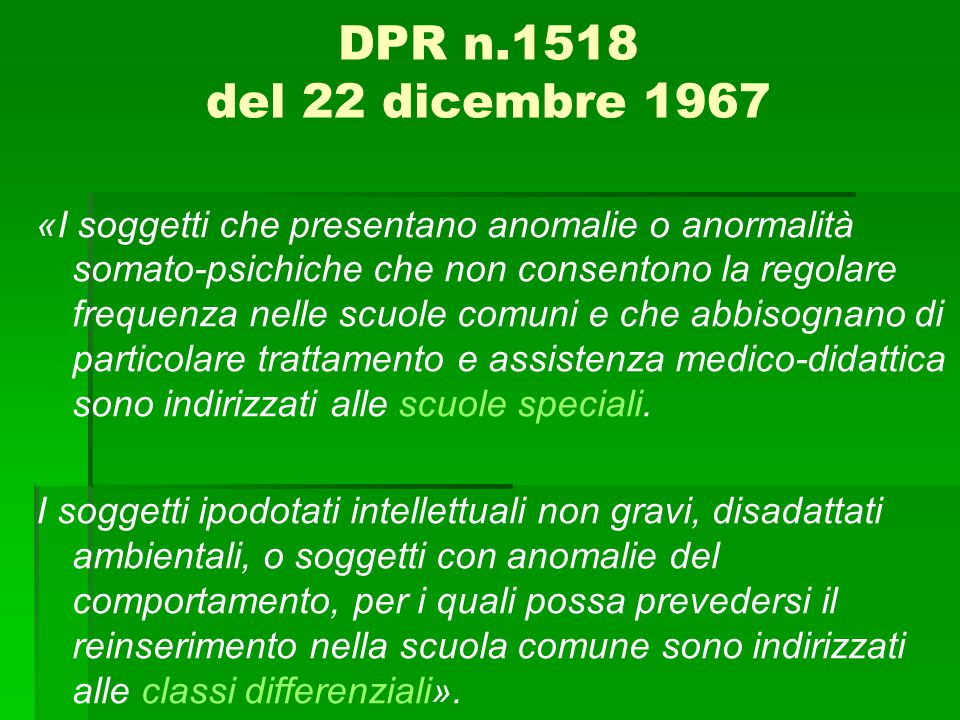 DPR n.1518 del 22 dicembre 1967