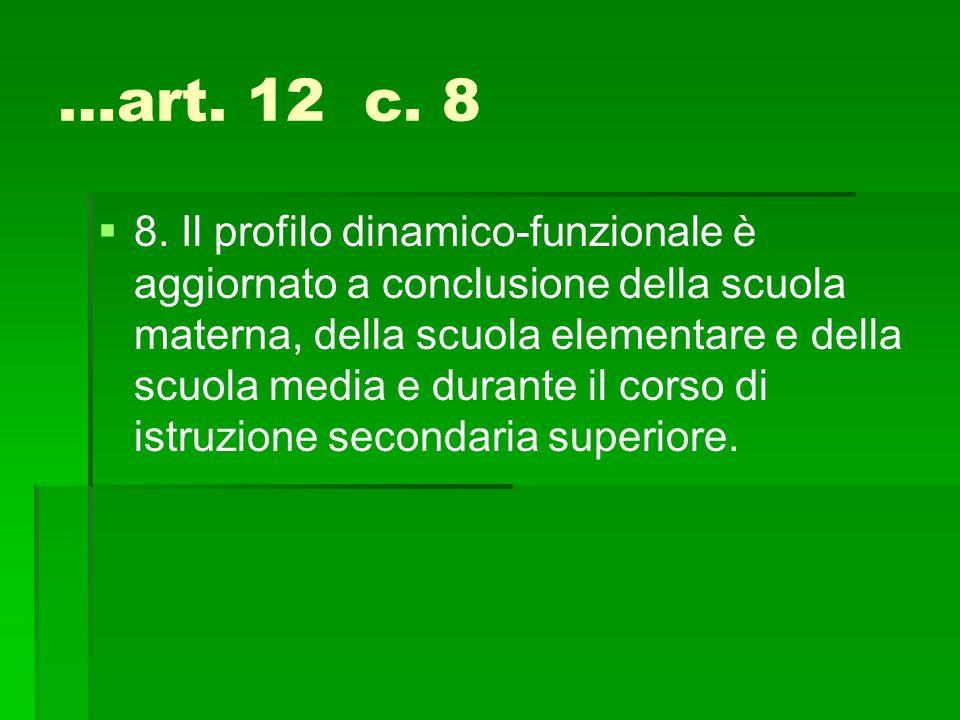 …art. 12 c. 8