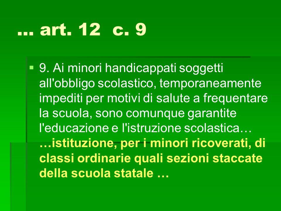 … art. 12 c. 9