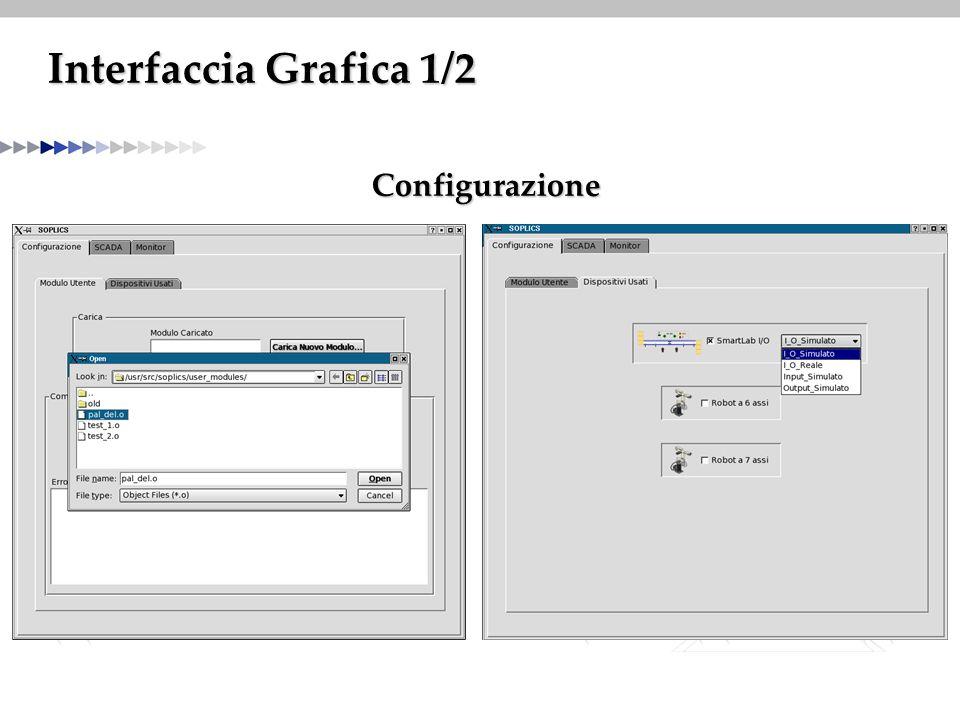 Interfaccia Grafica 1/2 Configurazione