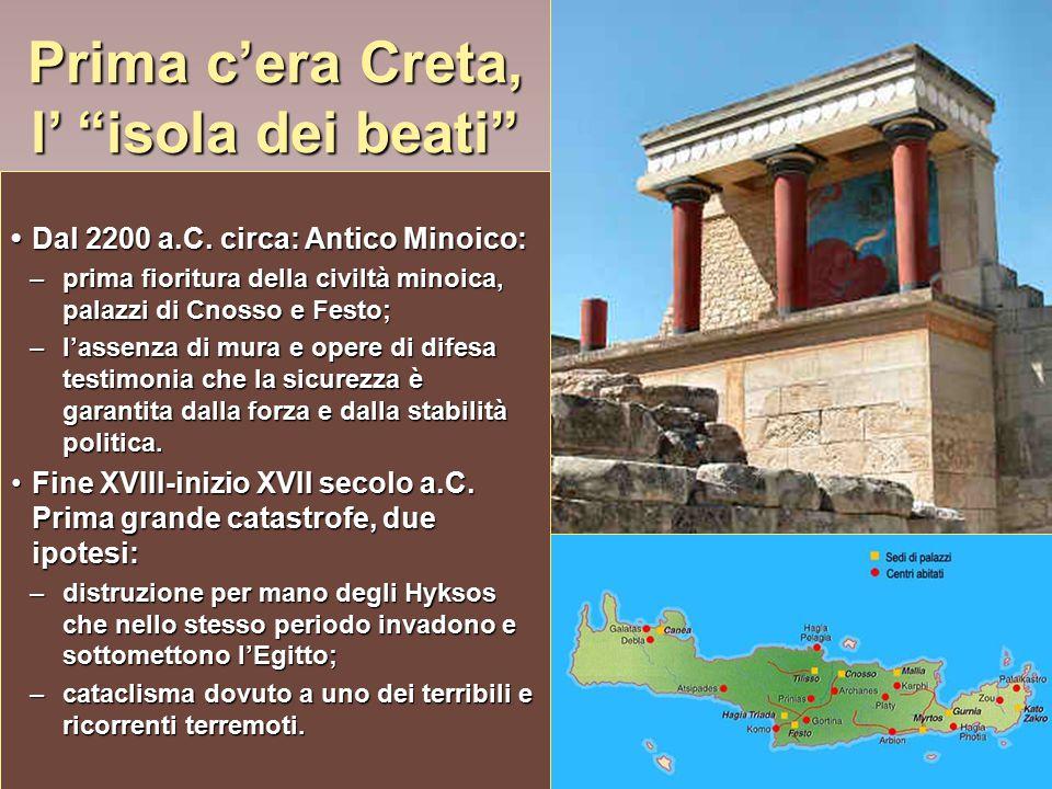 Prima c'era Creta, l' isola dei beati