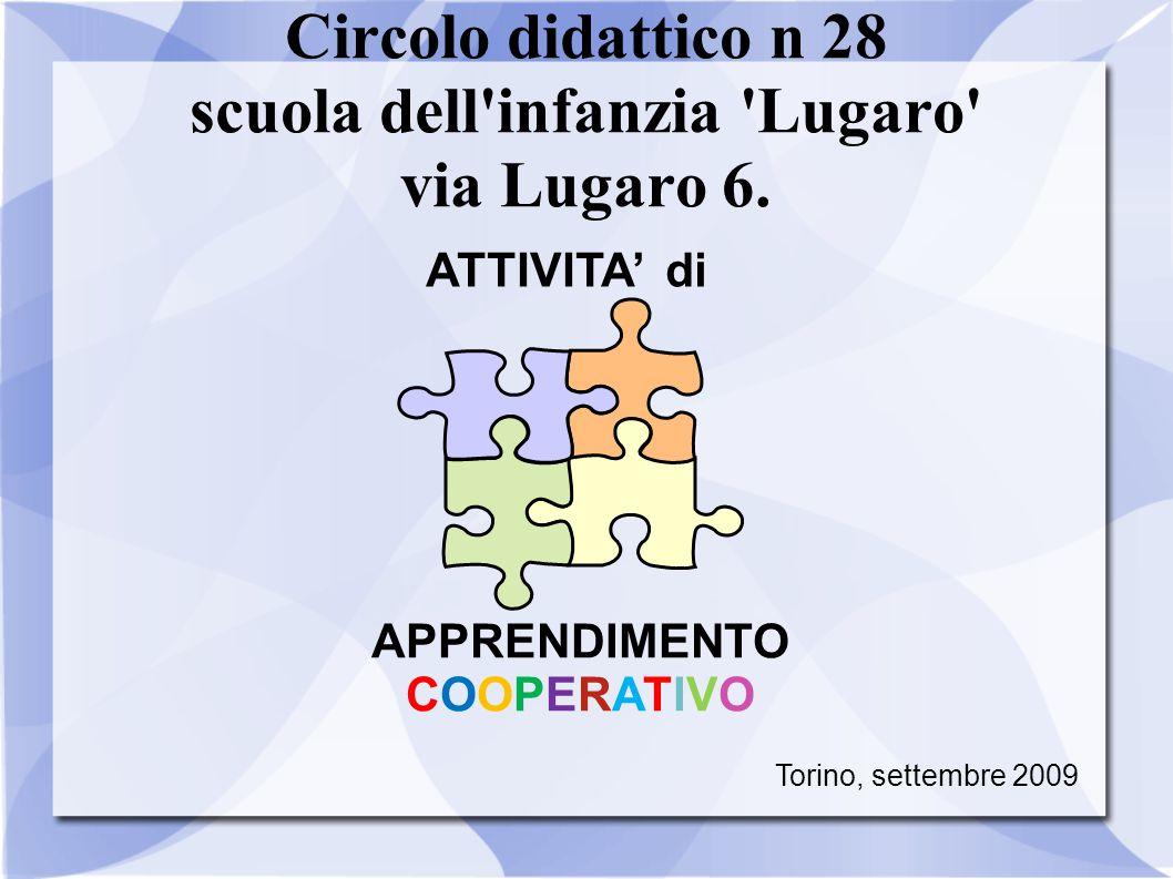 Circolo didattico n 28 scuola dell infanzia Lugaro via Lugaro 6.