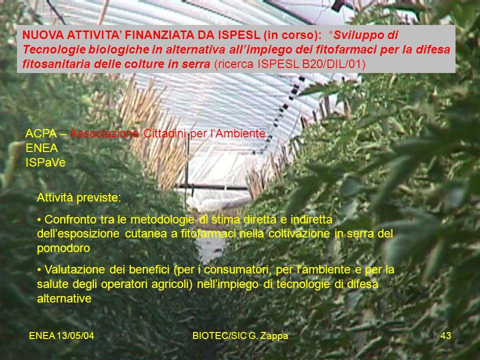 ACPA – Associazione Cittadini per l'Ambiente ENEA ISPaVe