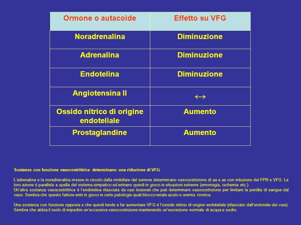 Ossido nitrico di origine endoteliale
