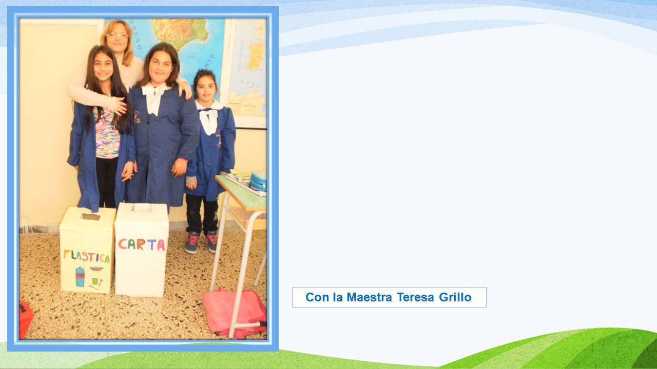 Con la Maestra Teresa Grillo