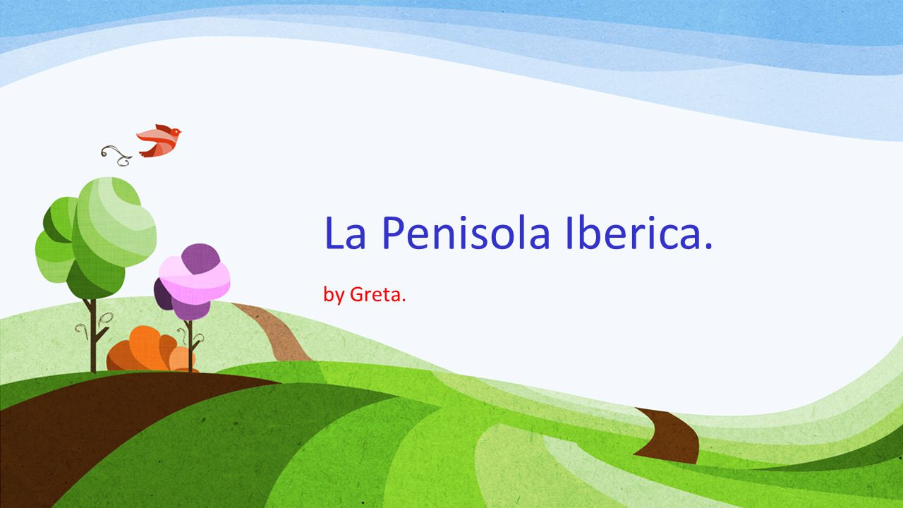 La Penisola Iberica. by Greta.