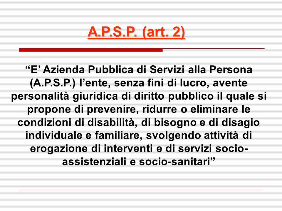 A.P.S.P. (art. 2)