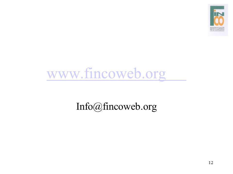 www.fincoweb.org Info@fincoweb.org