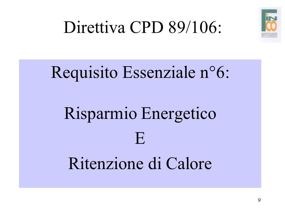 Requisito Essenziale n°6: