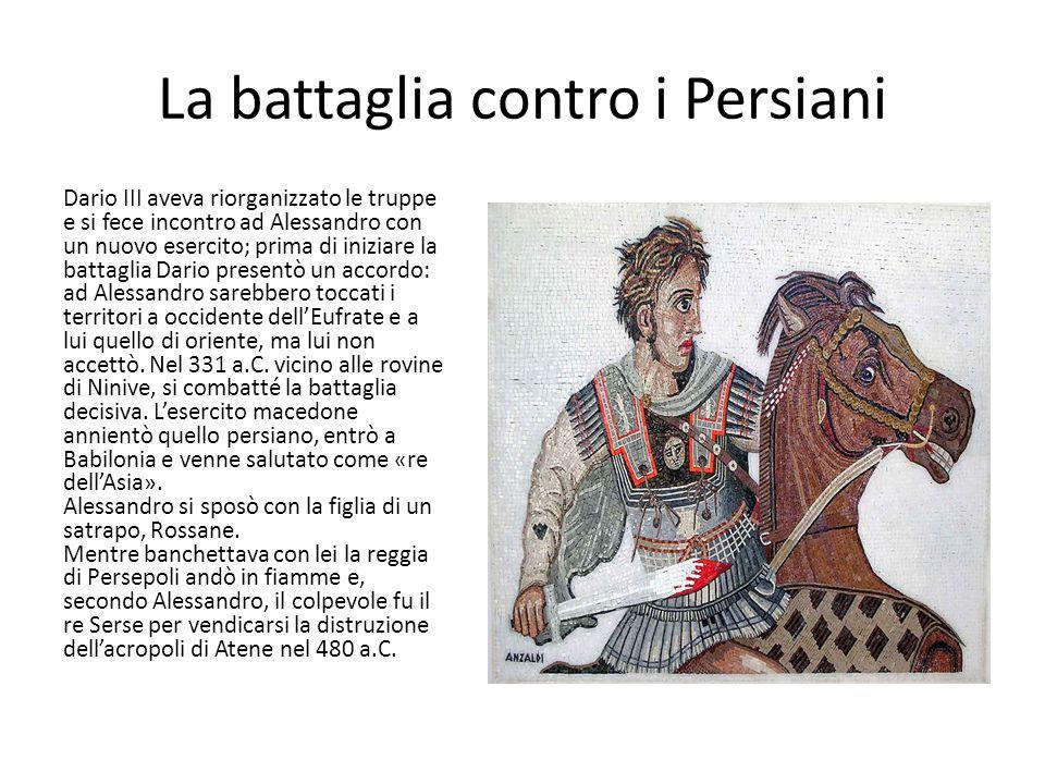 La battaglia contro i Persiani