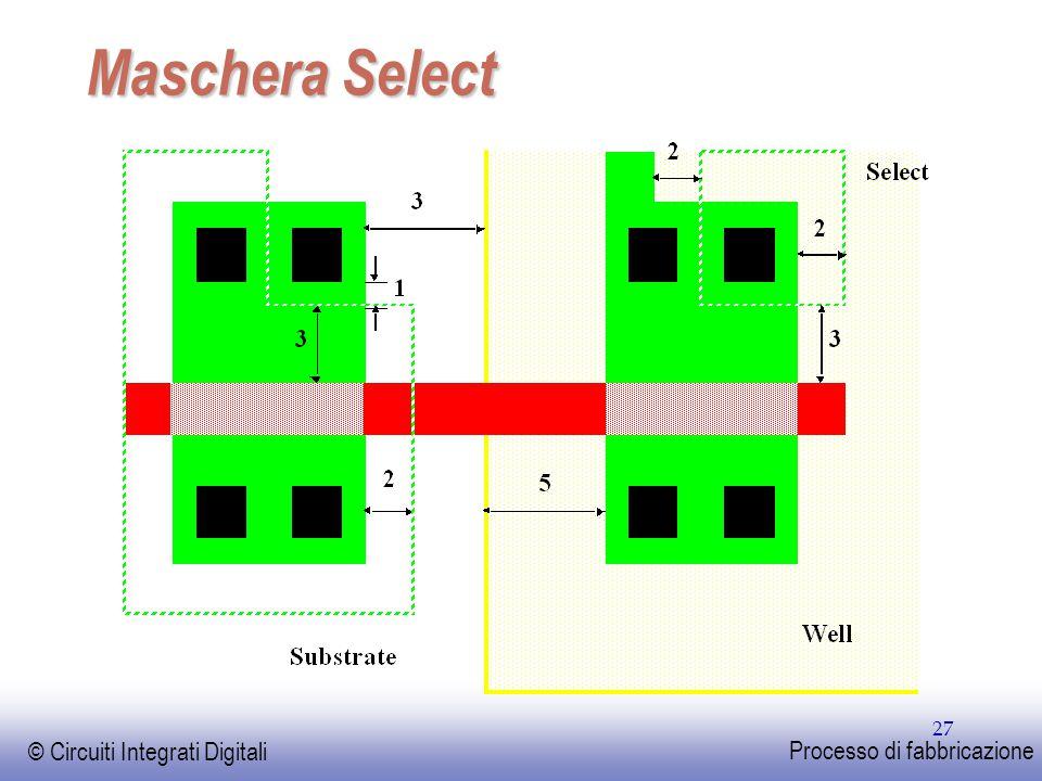 Maschera Select