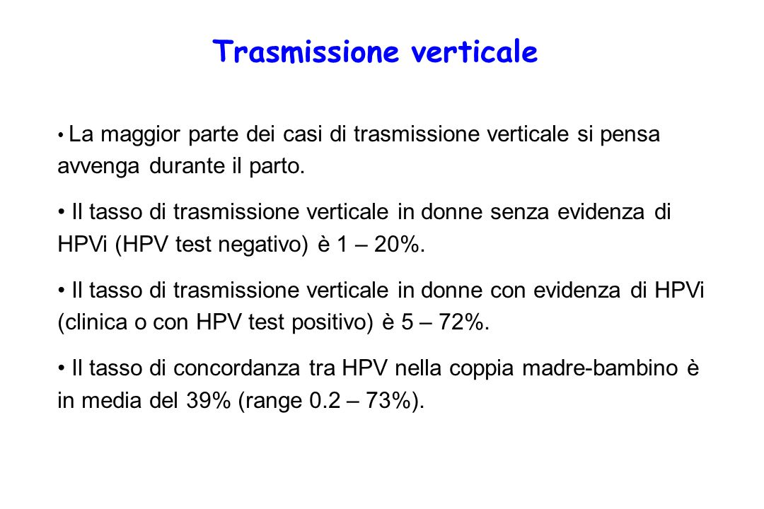 Trasmissione verticale