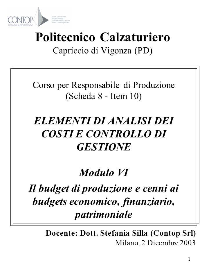 Politecnico Calzaturiero Capriccio di Vigonza (PD)