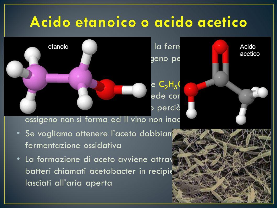 Acido etanoico o acido acetico