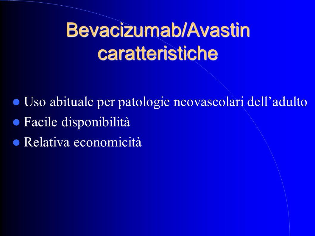 Bevacizumab/Avastin caratteristiche