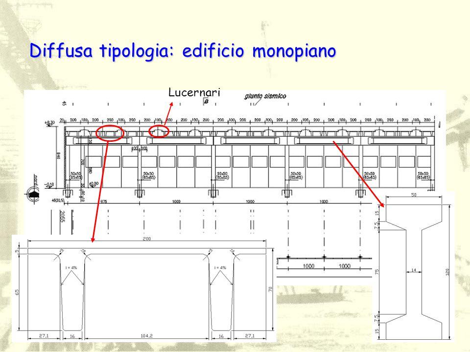 Diffusa tipologia: edificio monopiano