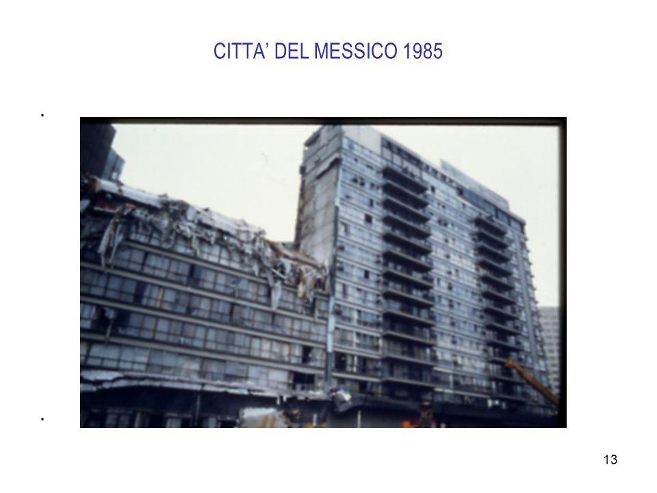 CITTA' DEL MESSICO 1985 .
