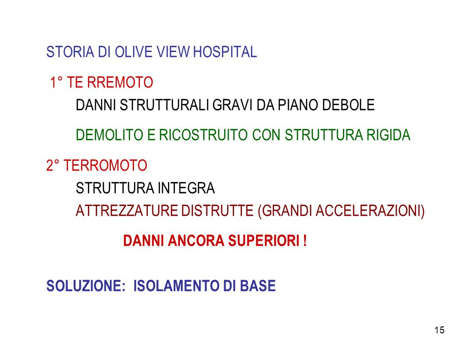 STORIA DI OLIVE VIEW HOSPITAL