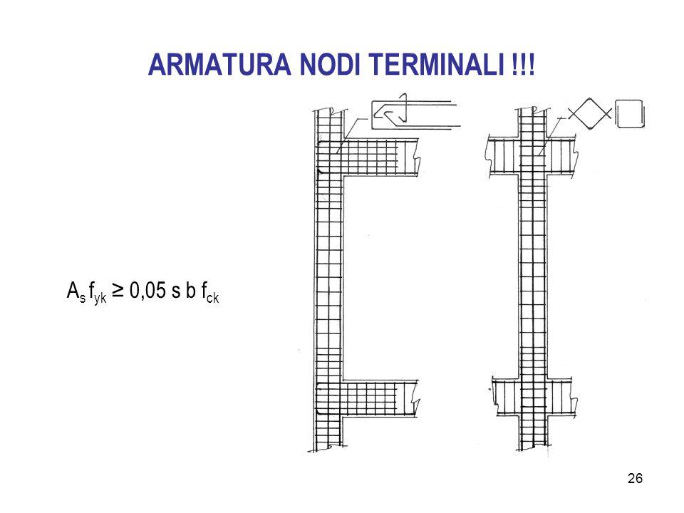 ARMATURA NODI TERMINALI !!!