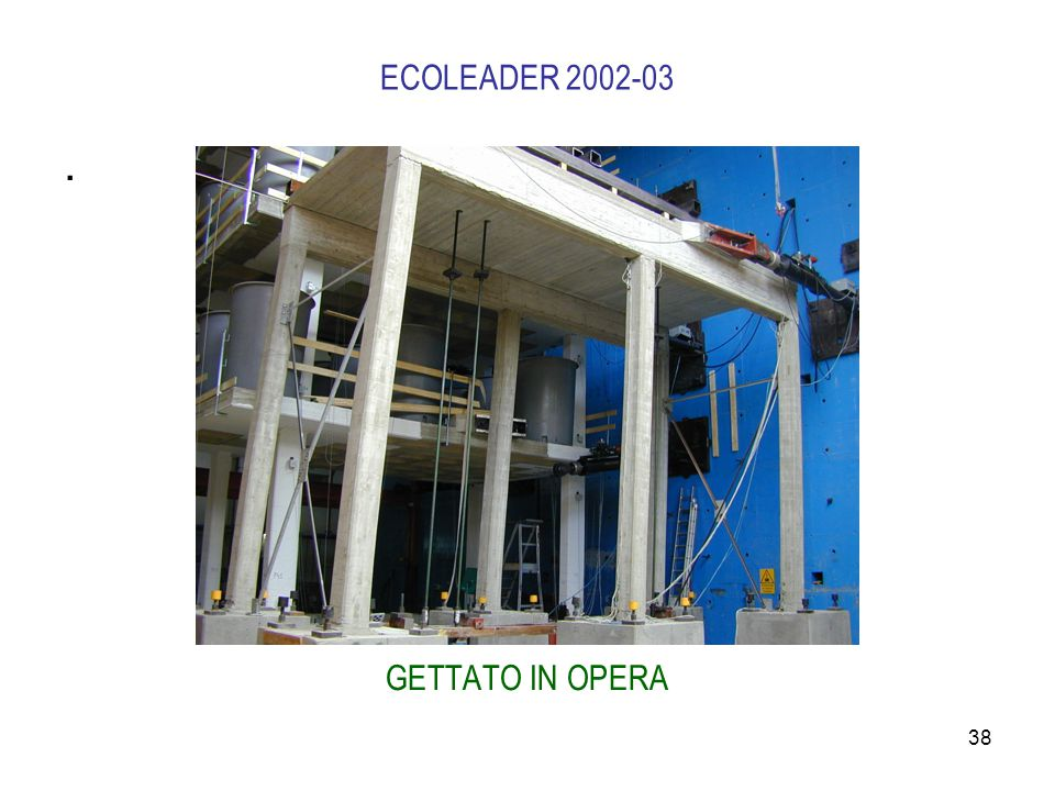 ECOLEADER 2002-03 . GETTATO IN OPERA
