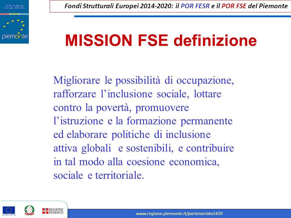 MISSION FSE definizione