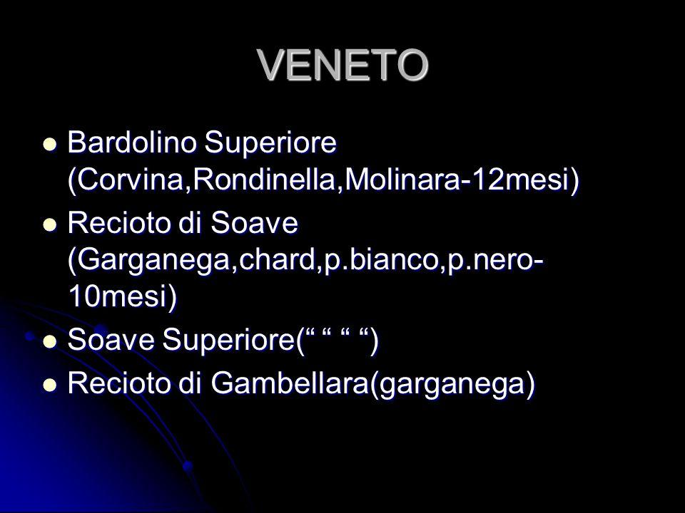 VENETO Bardolino Superiore (Corvina,Rondinella,Molinara-12mesi)