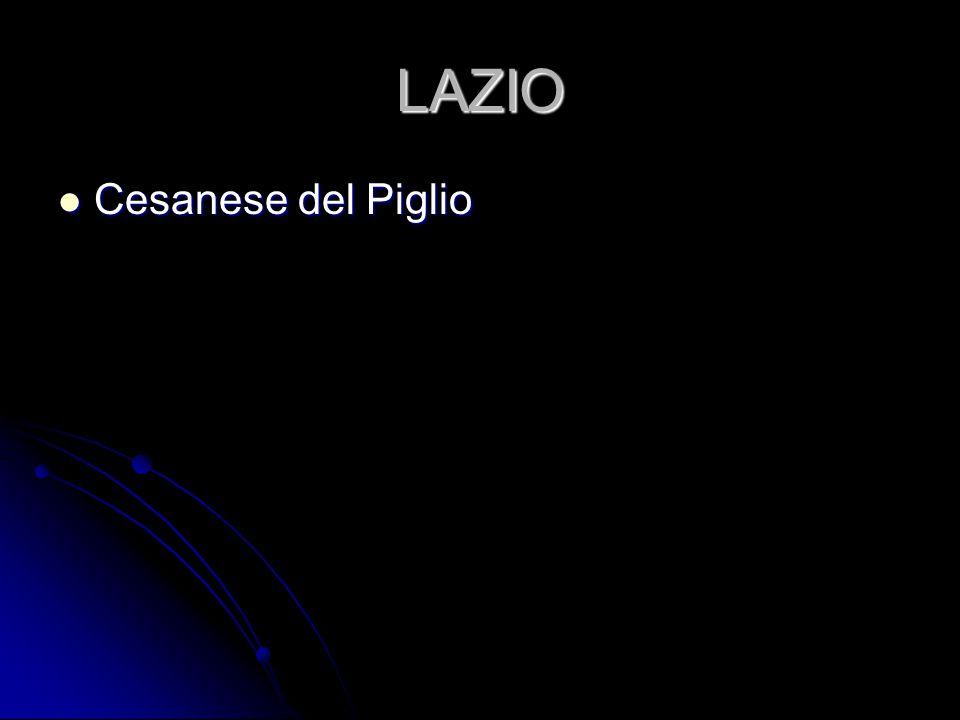 LAZIO Cesanese del Piglio