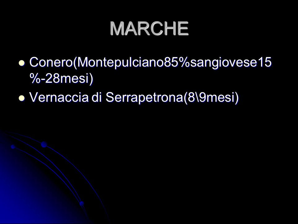MARCHE Conero(Montepulciano85%sangiovese15%-28mesi)