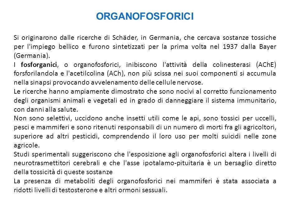 ORGANOFOSFORICI
