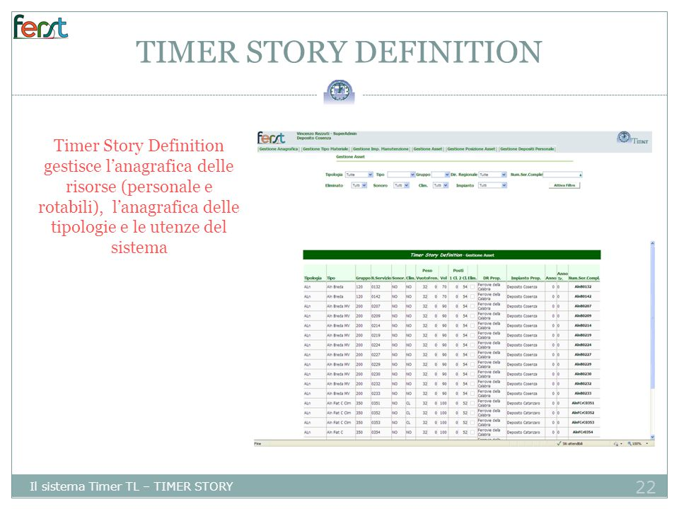 TIMER STORY DEFINITION