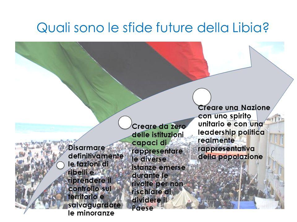 Quali sono le sfide future della Libia