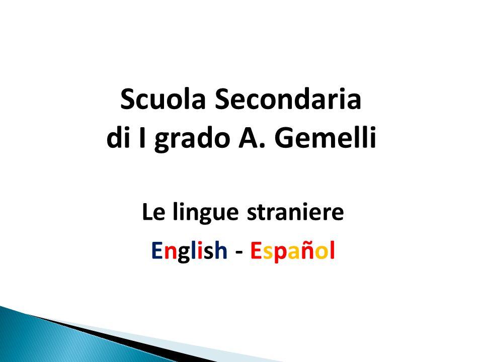 Scuola Secondaria di I grado A. Gemelli
