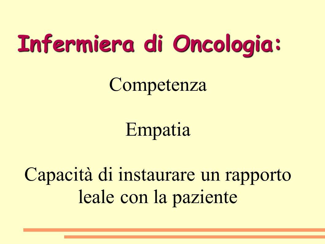 Infermiera di Oncologia: