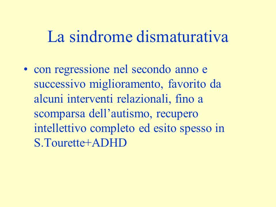 La sindrome dismaturativa