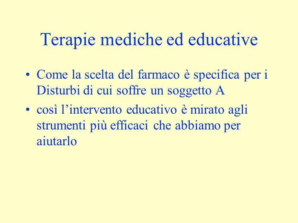 Terapie mediche ed educative