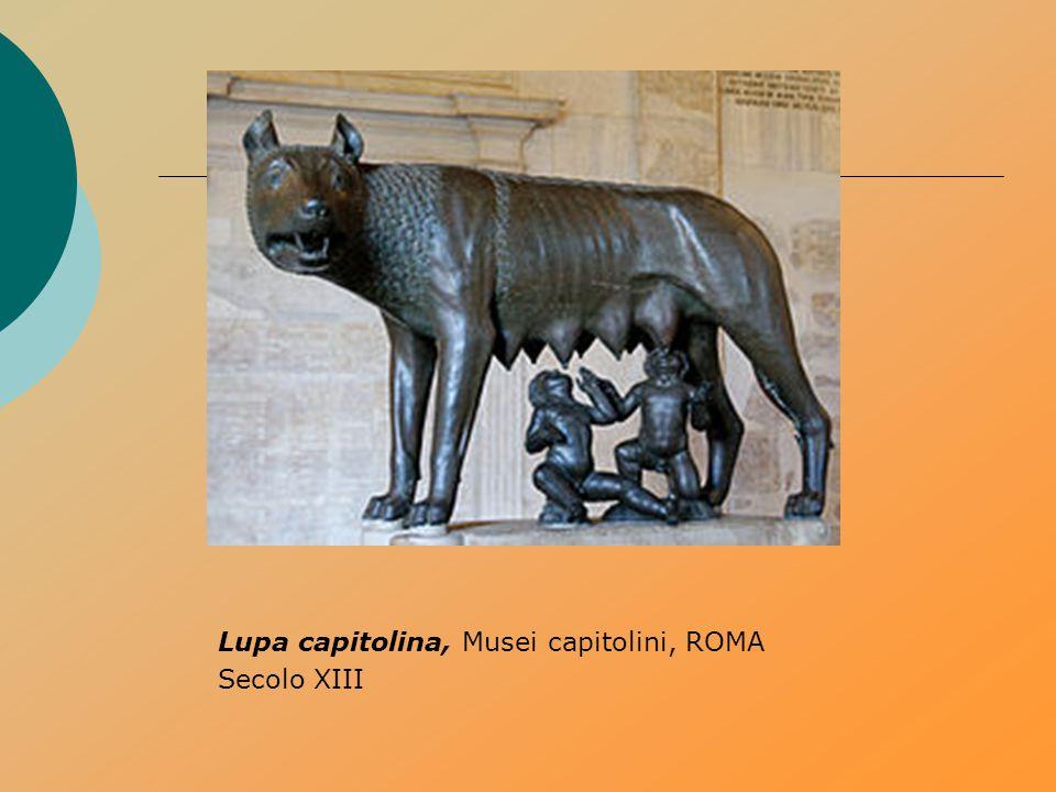 Lupa capitolina, Musei capitolini, ROMA