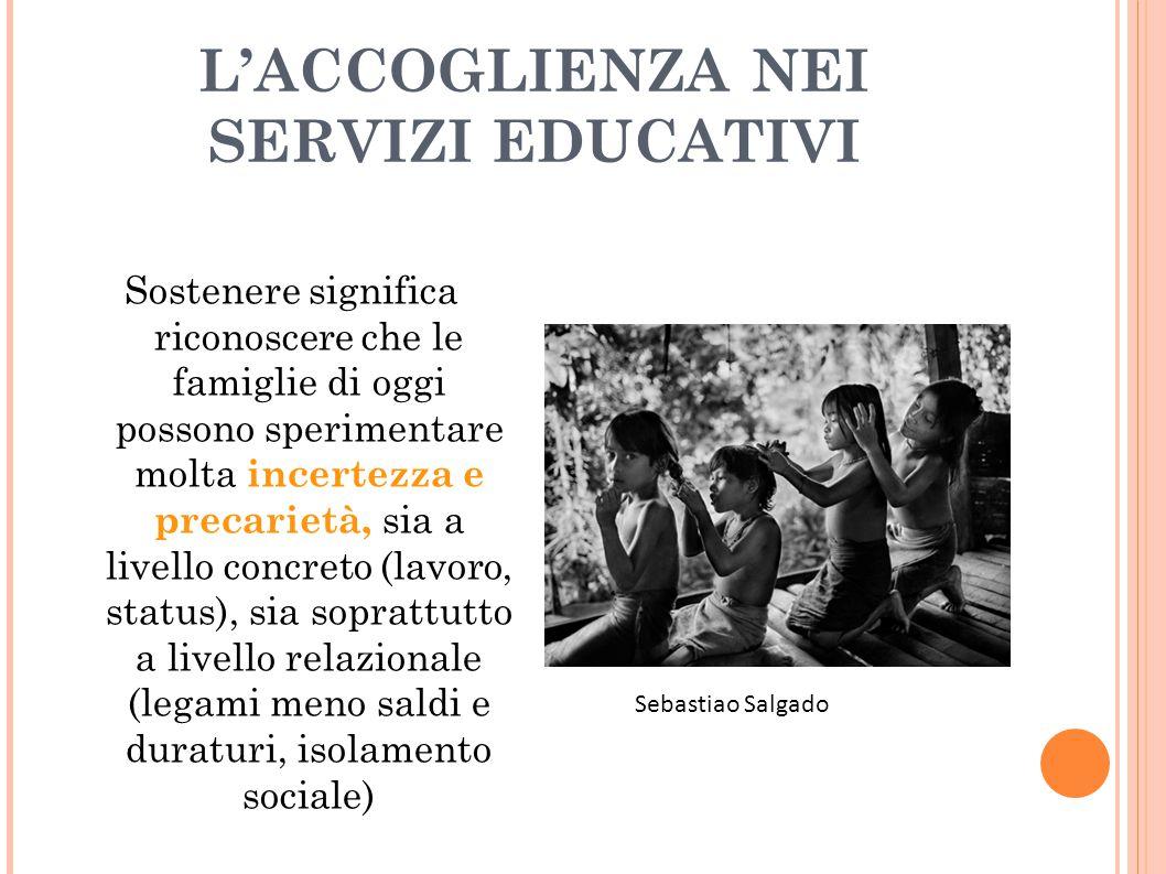 L'ACCOGLIENZA NEI SERVIZI EDUCATIVI