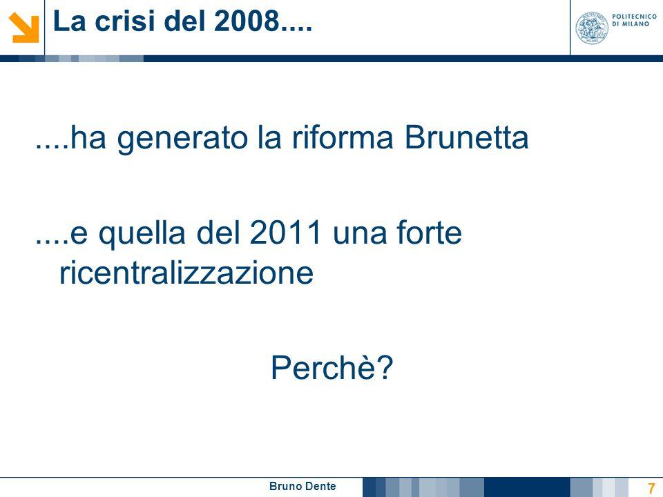 La crisi del 2008....