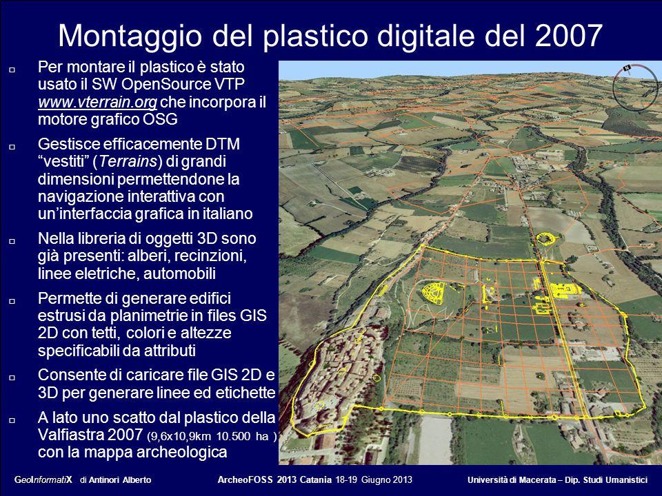 Montaggio del plastico digitale del 2007