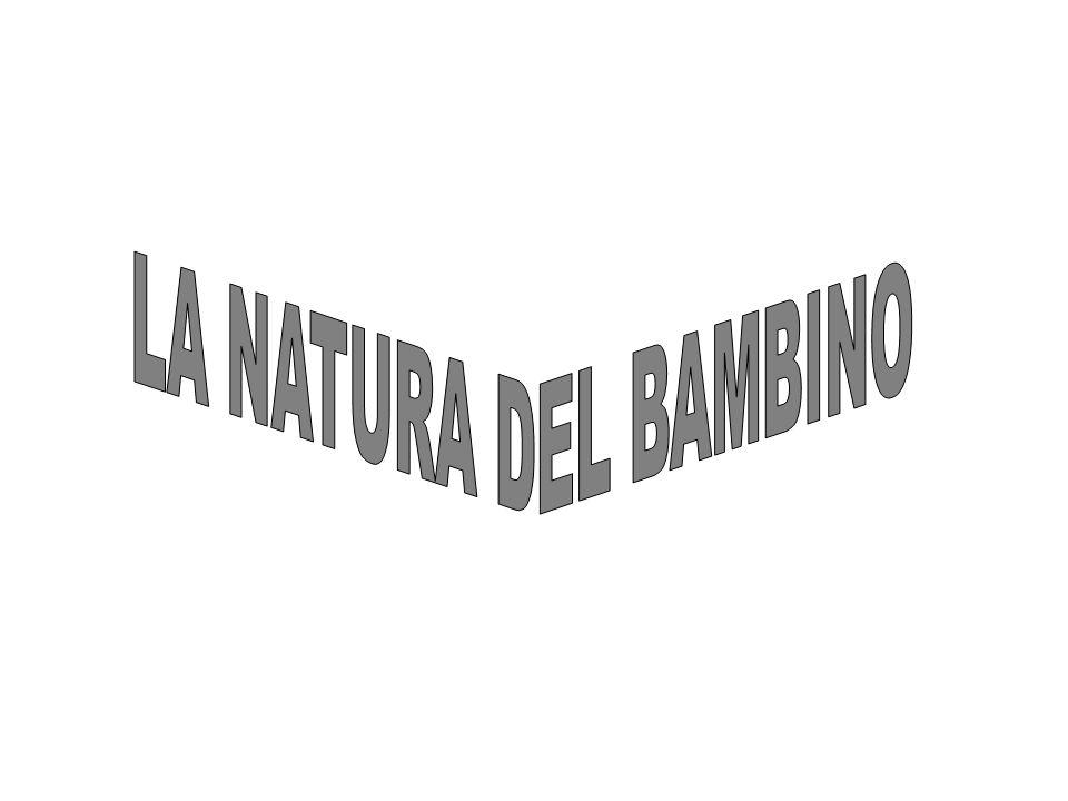 LA NATURA DEL BAMBINO