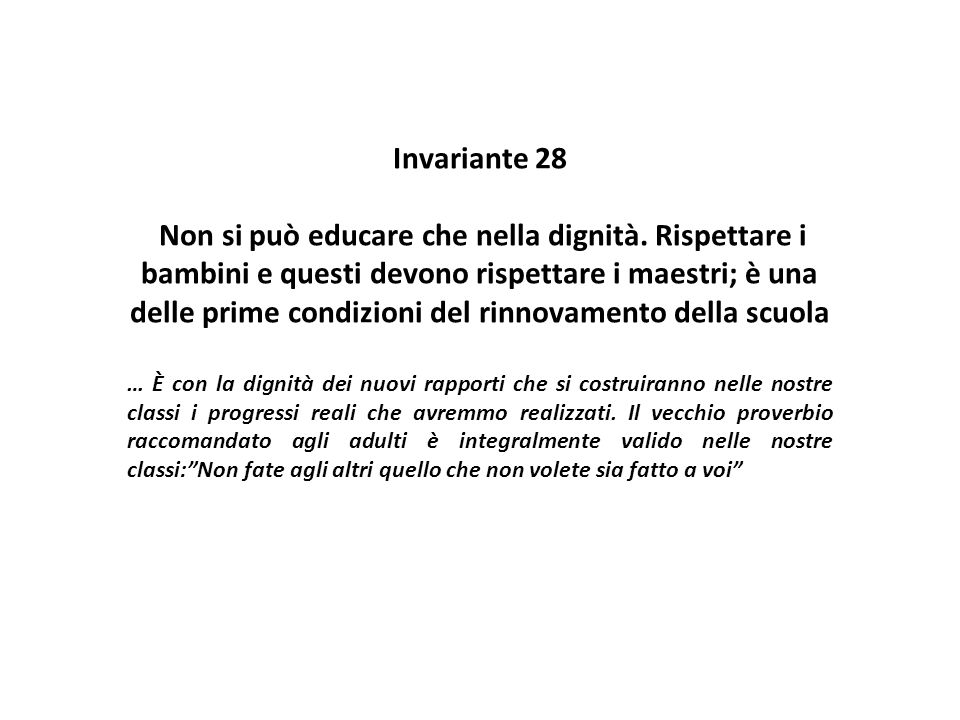 Invariante 28
